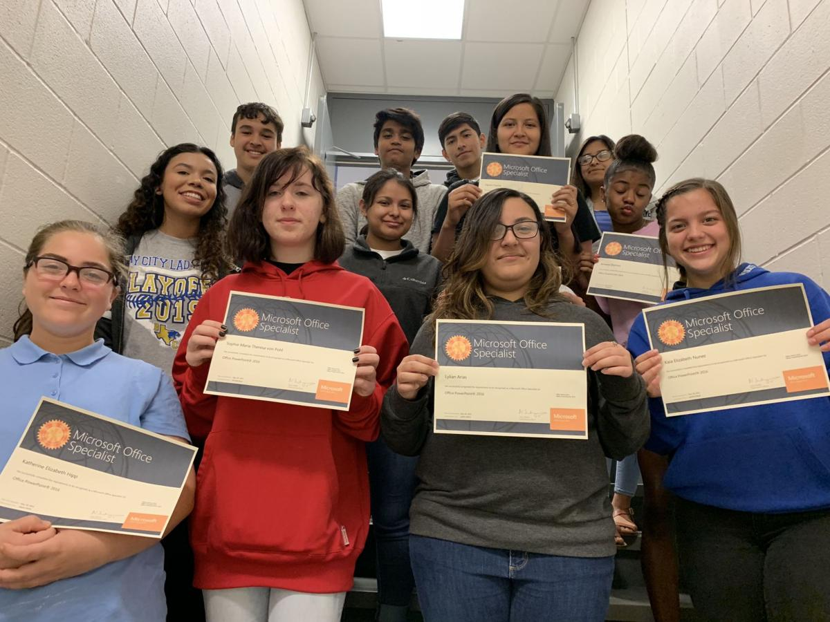 50 more BCHS students earn certifications