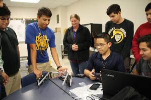 BCHS robotics: Preparing students for the global digital economy