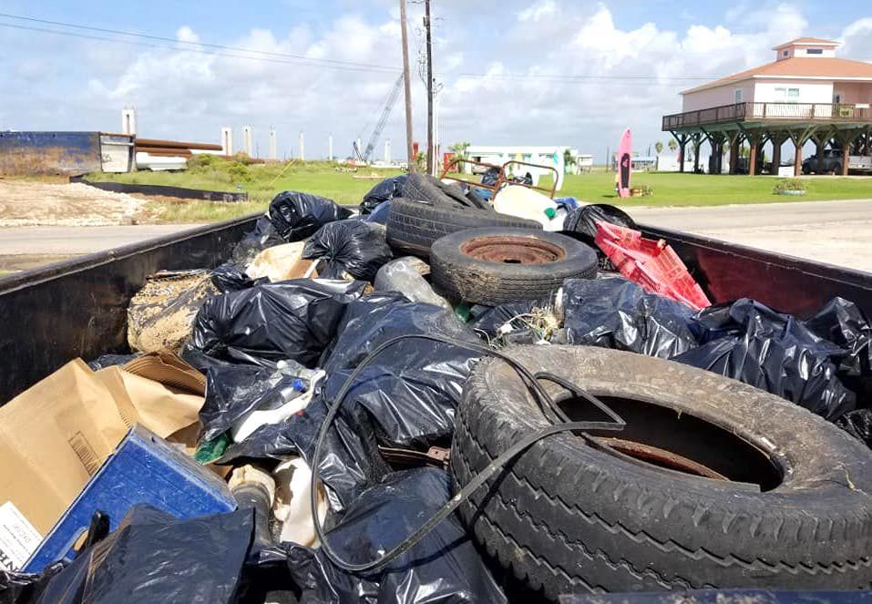 Annual Fall Beach Cleanup a success in Matagorda and Sargent