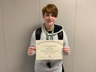 Bay City CTE student honored with scholarship