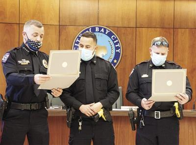Bay City PD promotes two officers to corporal ranks