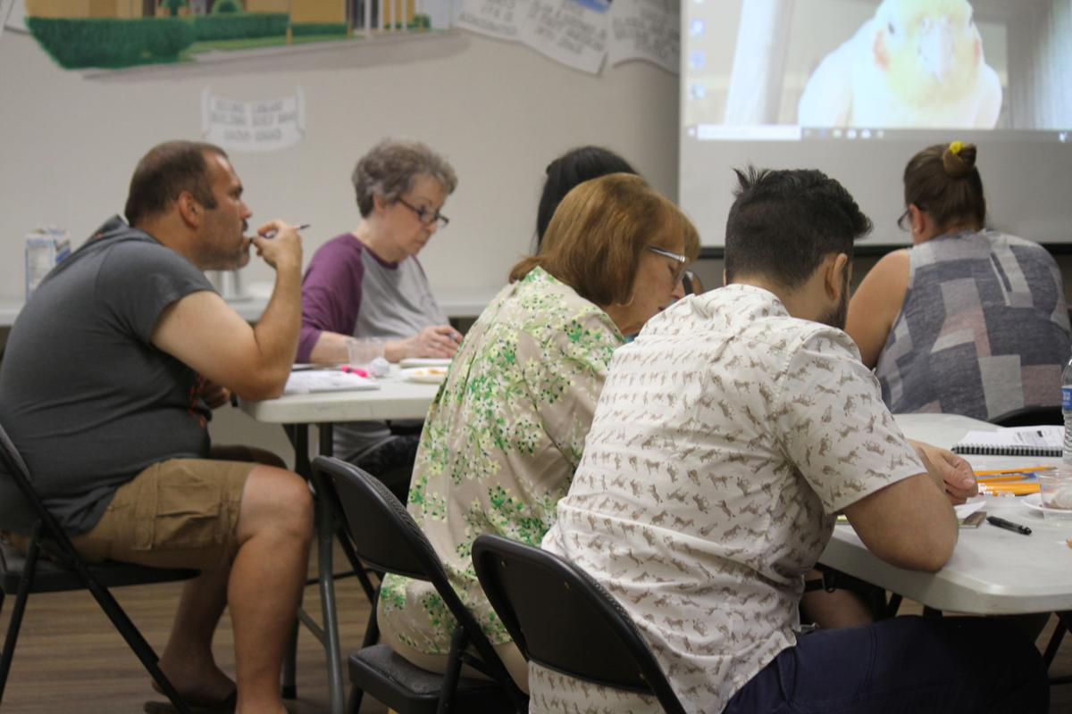 Library holds Spanish Class
