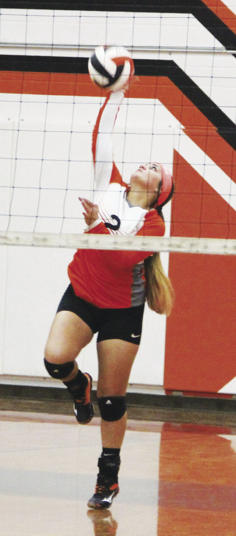Palacios in third in district volleyball
