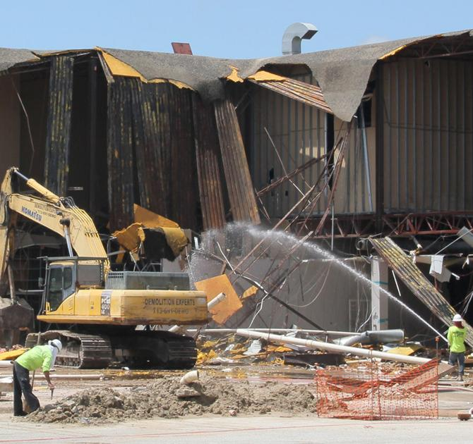 san jacinto mall demolition progresses
