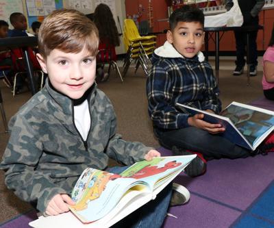 Travis Elementary book buddies