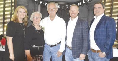 Students, friends, family celebrate retiring teacher