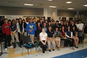 Alice Johnson Junior High Band Strikes Gold Baytownsun