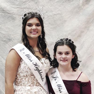 Miss Highlands, Jr. Miss Highlands crowned