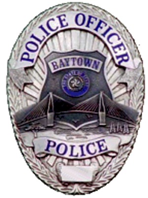 Baytown PD Badge