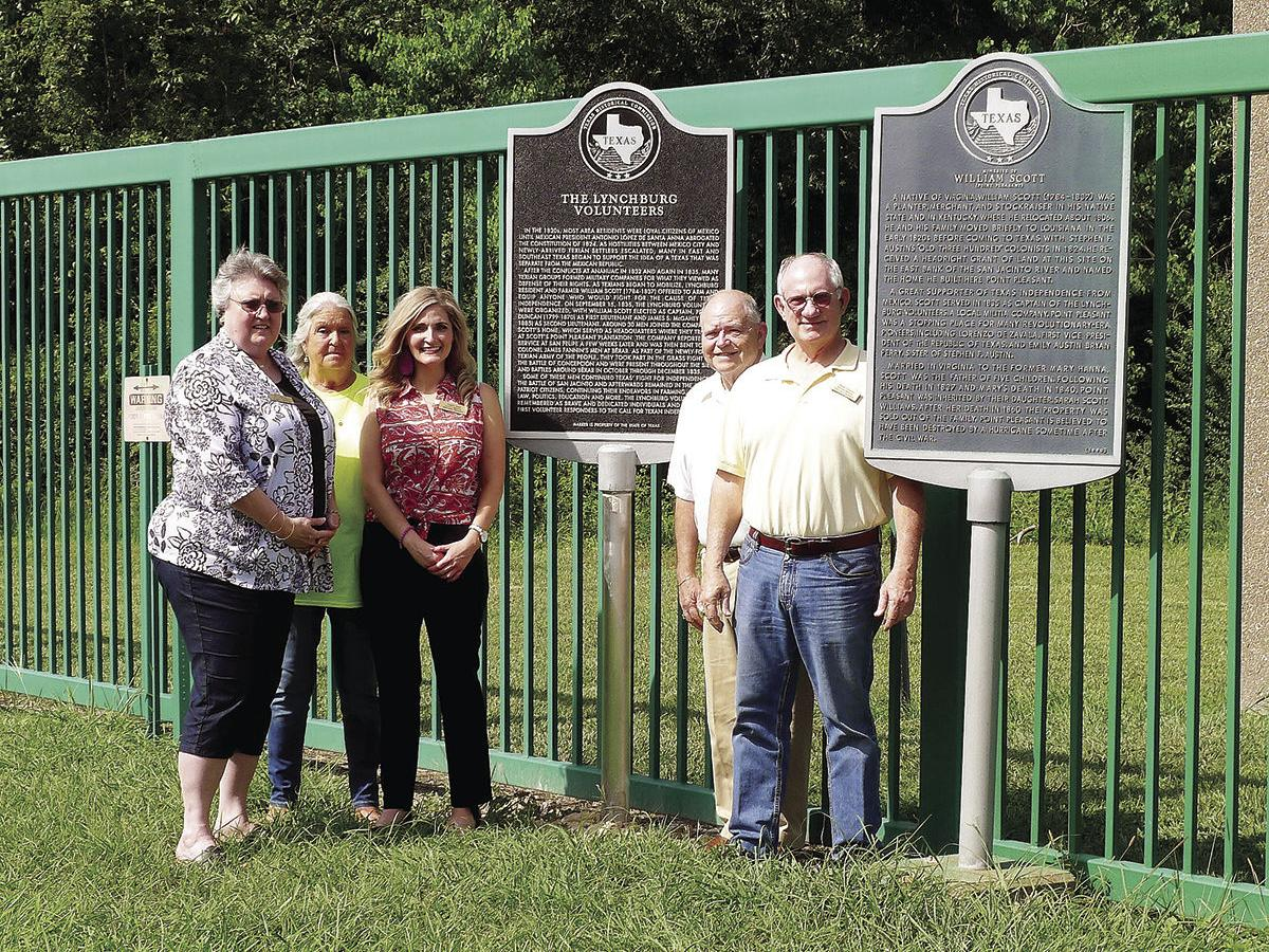 Historical marker installed for the Lynchburg Volunteers