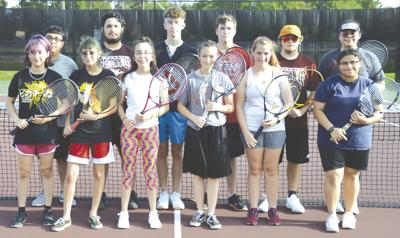 REL tennis squad to rely on many new faces
