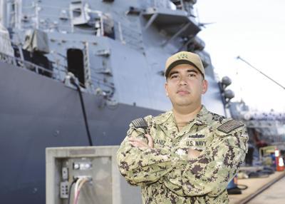 REL grad serves aboard destroyer