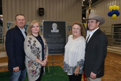 Goose Creek CISD dedicates ag center to John D. George
