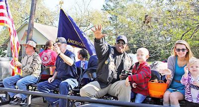 Crosby Veterans Day Parade
