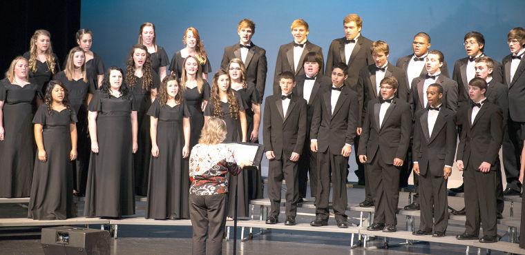 The Barbers Hill High School Choir