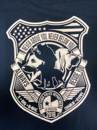 BPD selling T-shirts for canine unit | News | baytownsun com