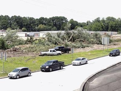 Residents decry land clearing for gas station; Mayor open to revisiting tree ordinance