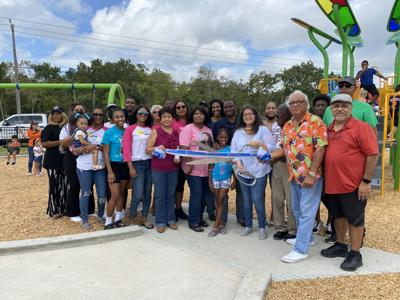 Ribbon-cutting held for Ginger Creek park