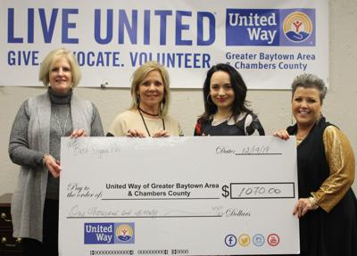 United Way receives gift from Beta Sigma Phi
