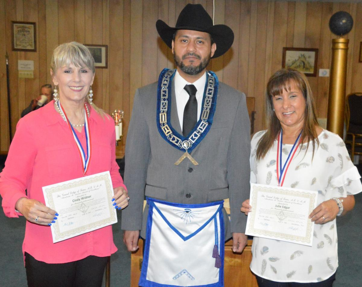 Old River Masonic Lodge bestows annual awards