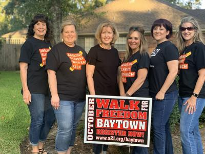 'Walk for Freedom' steps off Saturday from Baytown church
