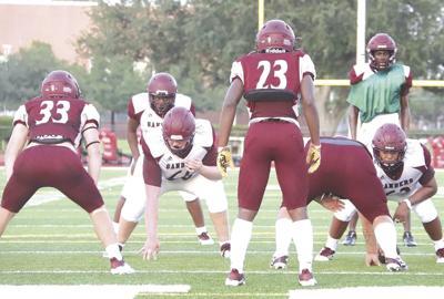Youth dominates at spring football games