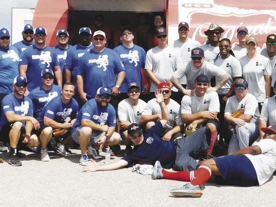 GUNS 'N HOSES — First responders go head to head for bragging rights