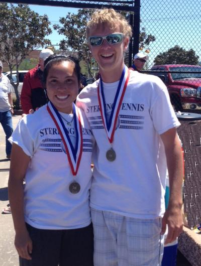 Mixed doubles district champs