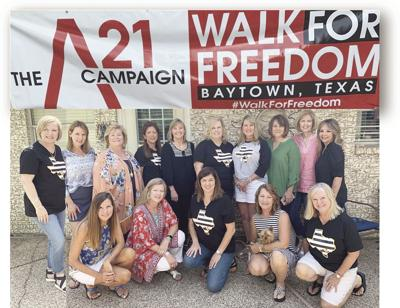 Annual Walk for Freedom on Oct. 19