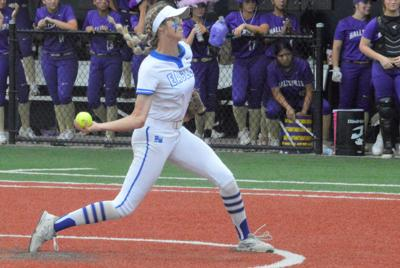 Barbers Hill hurler makes final high school start one to remember