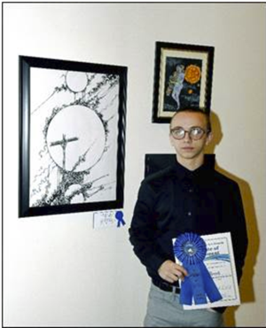 Mercer student's art to hang in nation's capitol