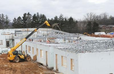 Bluefield Elementary construction site