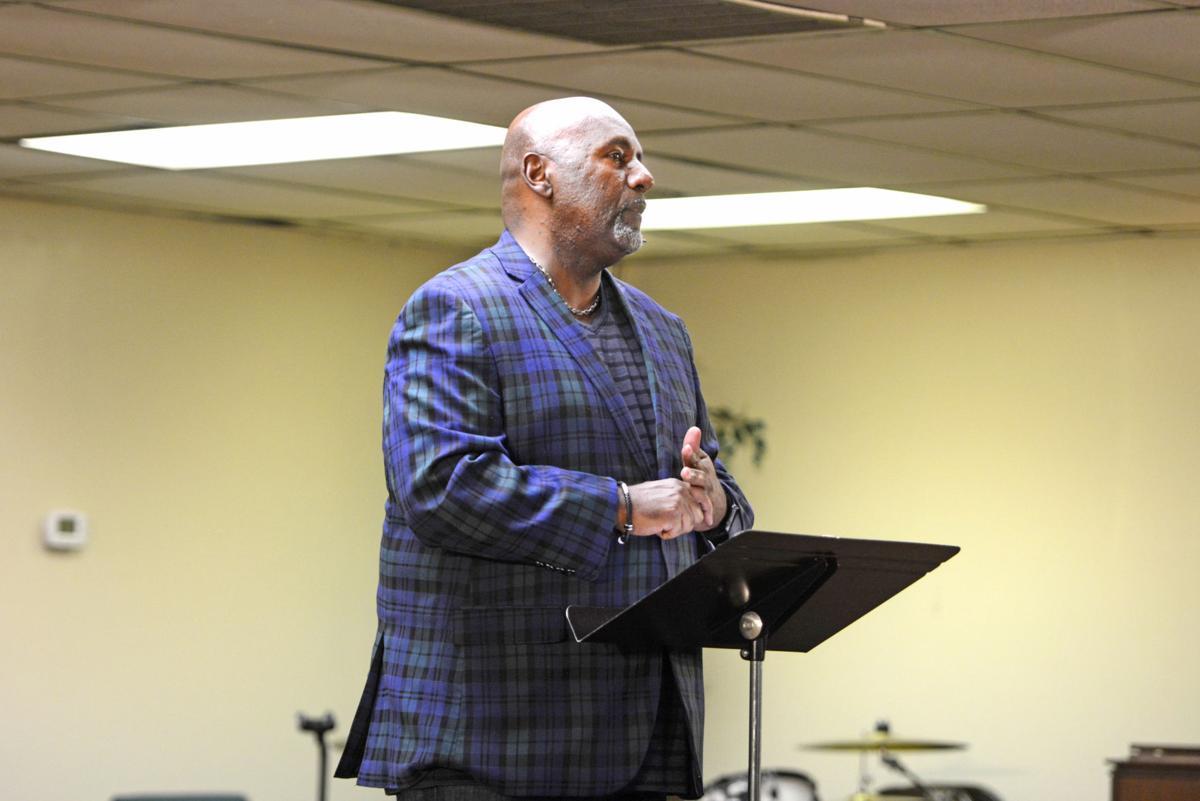 Pastor Frank Brown