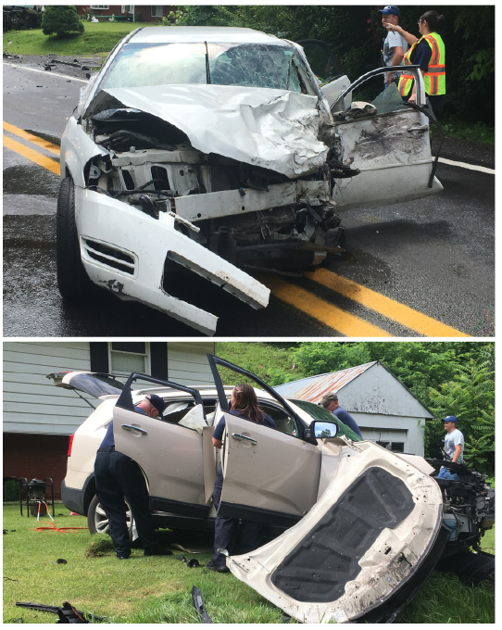 Iaeger car wreck sends two to hospital | News | bdtonline com