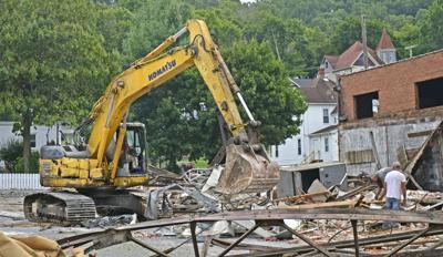 Bluefield Avenue demolition
