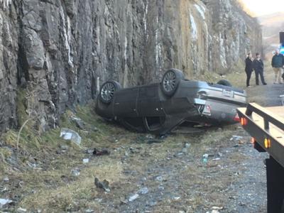 One Injured Following Single Vehicle Crash On U S Route 460 Near Hockman Pike News Bdtonline Com