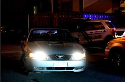 Princeton police chase