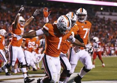 quality design 34d3c ef43f Explosive Virginia offense sparks win over Bobcats | Sports ...