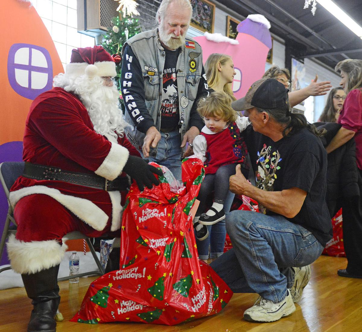 Brothers of the Wheel annual Children's Christmas Party