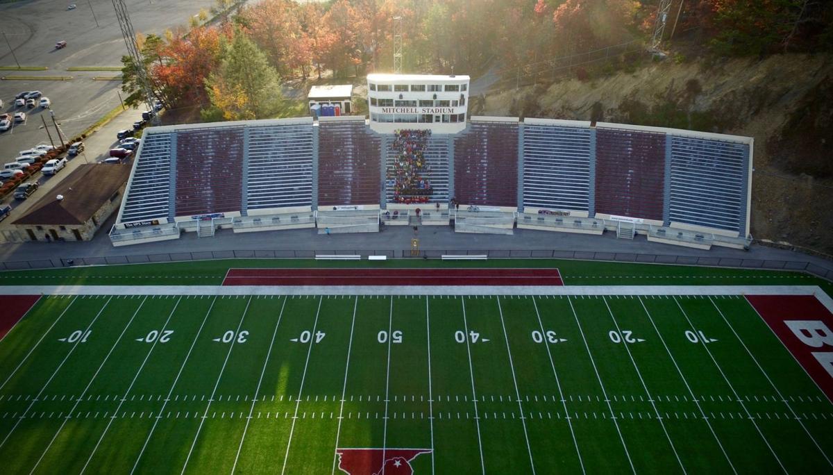 Mitchell Stadium aerial