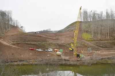 Kee Dam work