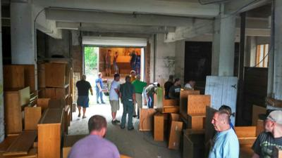 Bluefield College sends furniture to Rainelle