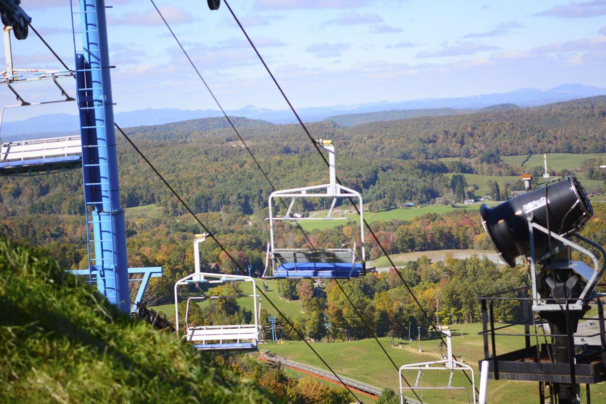 winterplace ski resort opens lifts for fall foliage sights   news