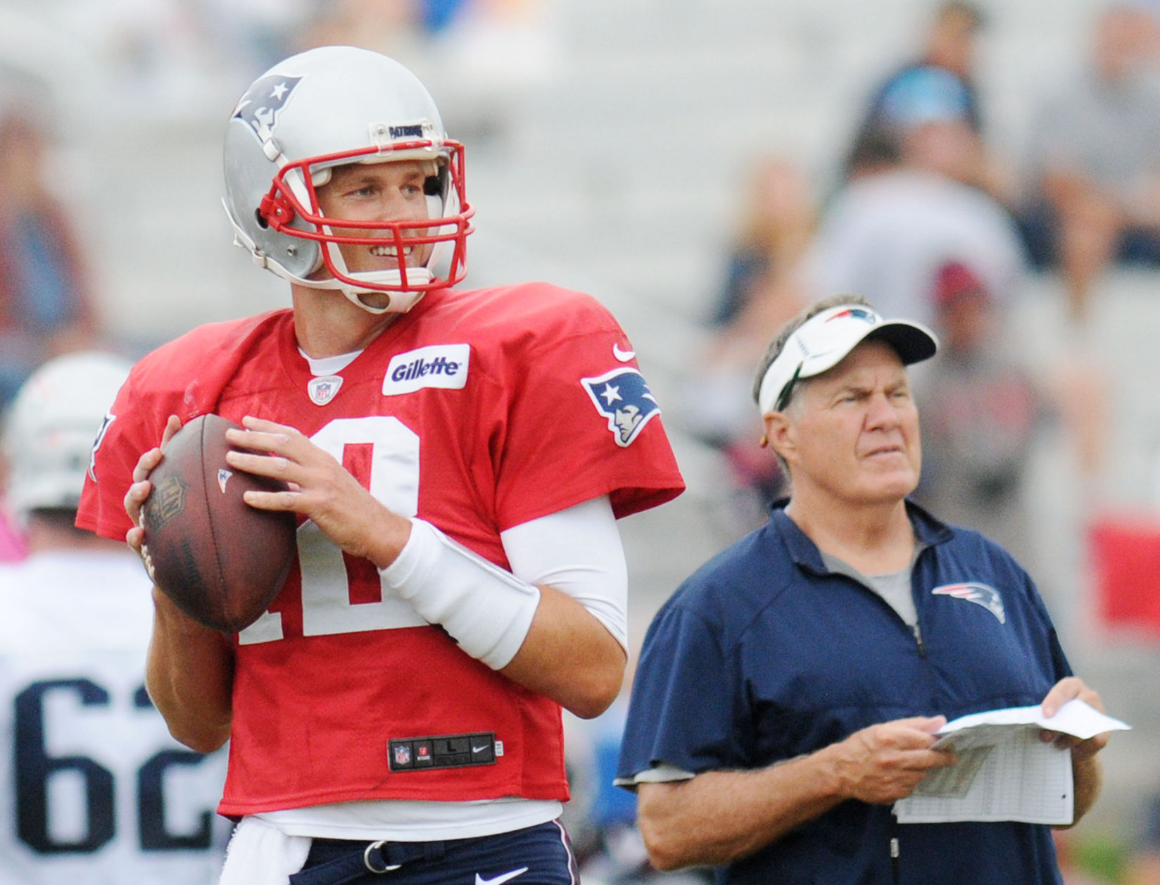 Ageless Brady not slowing down at 40