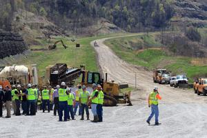Project to extend Coalfields Expressway into Wyoming County underway