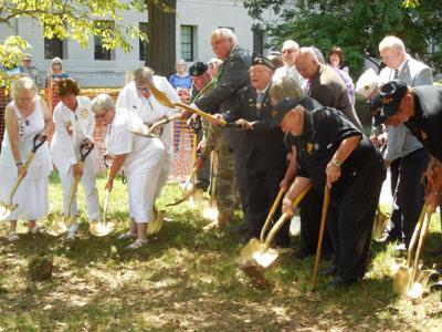 Charleston Gold Star Families Memorial Monument groundbreaking