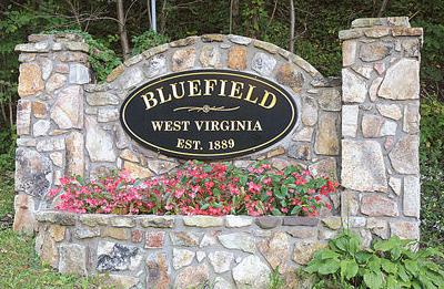 City of Bluefield sign