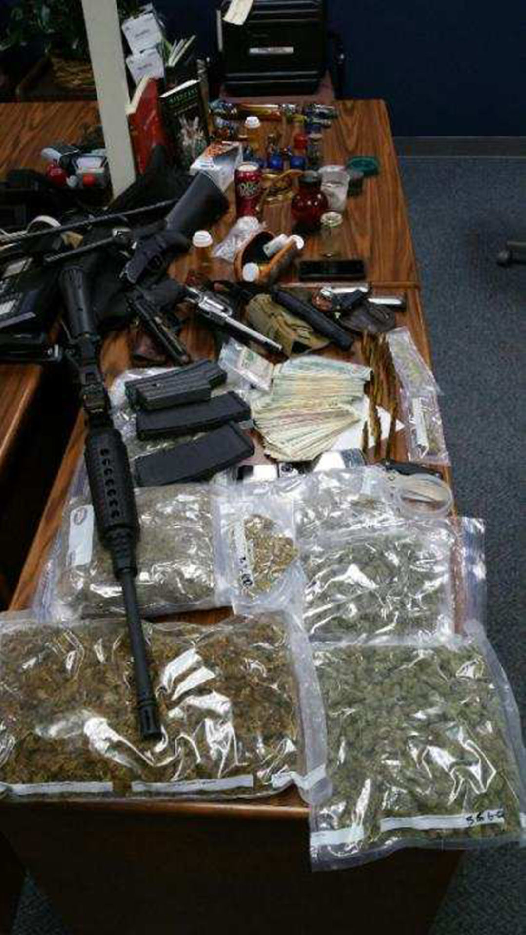 Man arrested following traffic stop for possession of