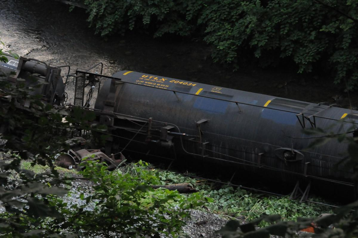 Train derails: 20 cars jump track in McDowell County | News
