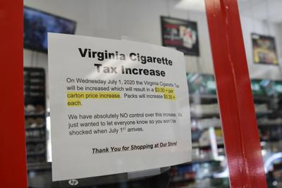 Virginia Cigarette Tax increase